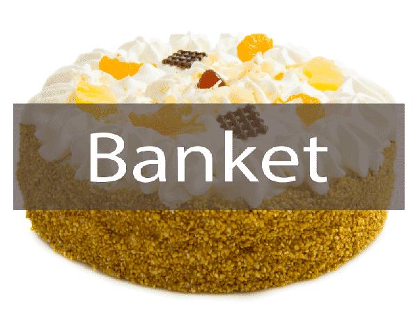 Link naar banket bestelpagina voor grote en kleine online bestellingen.